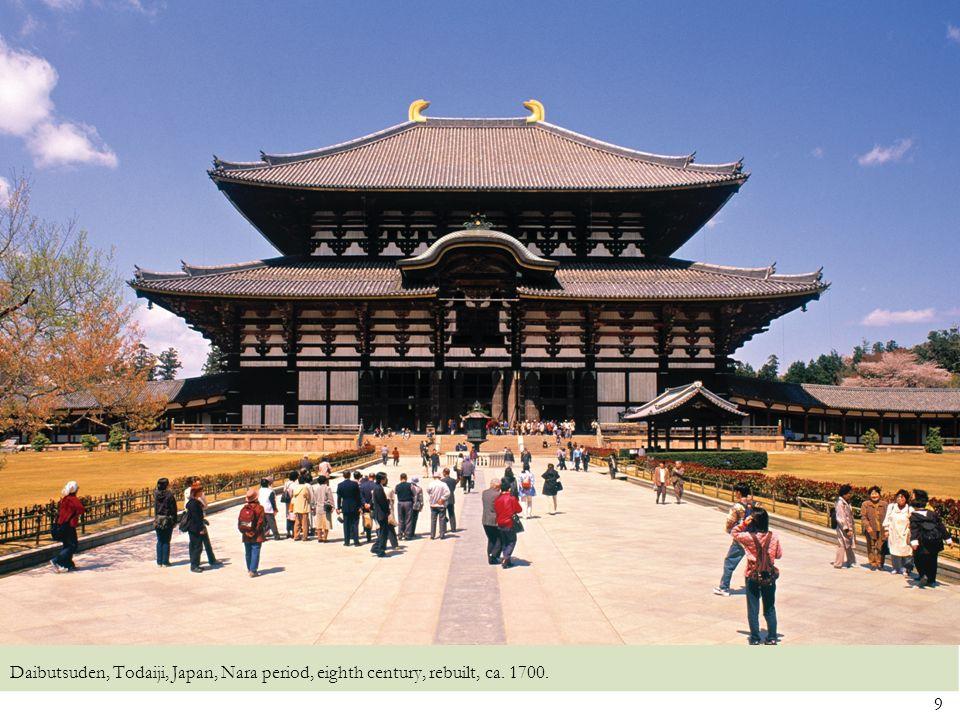 10 Phoenix Hall, Byodoin, Uji, Japan, Heian period, 1053.