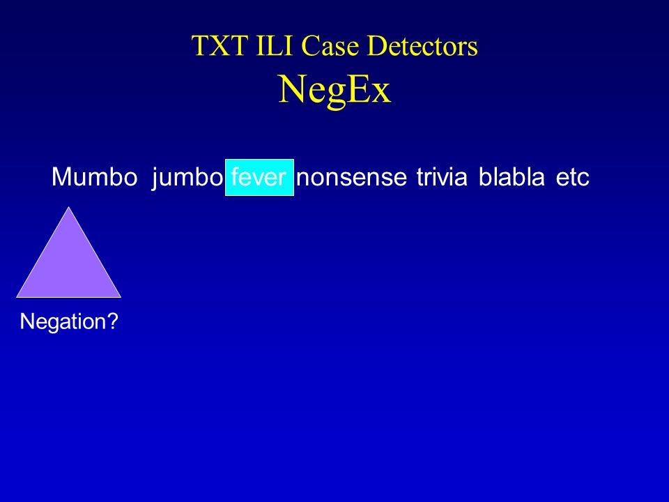 Negation? Mumbo jumbo fever nonsense trivia blabla etc