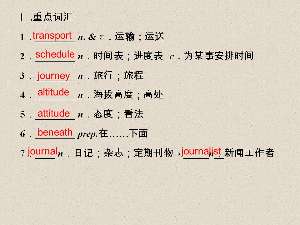 transport schedule journey altitude attitude beneath journaljournalist
