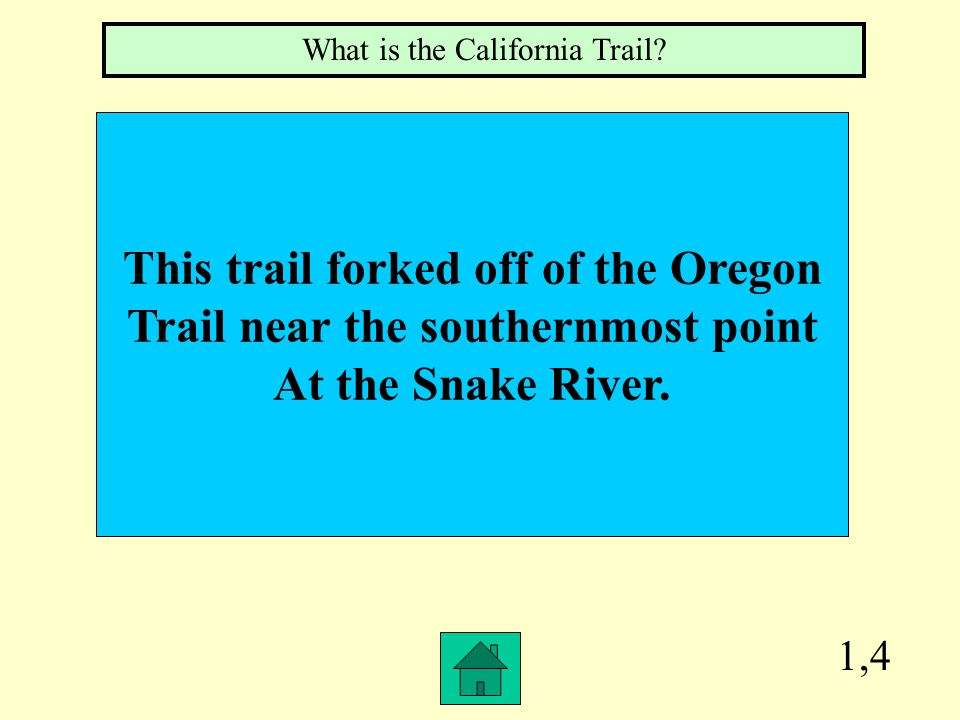 1,3 This was a 780 mile long overland Route west that was used Primarily by merchants. What is the Santa Fe Trail?