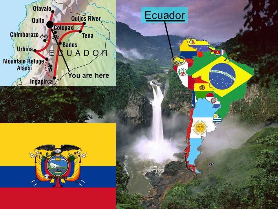 Ecuador You are here