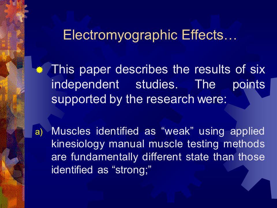 POTENTIALLY HELPFUL STUDIES Marino, M., Nicholas, J.A., Gleim, G., Rosenthal, P., Nicholas, S.J.
