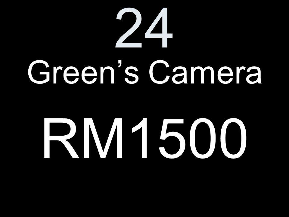 24 Greens Camera RM1500