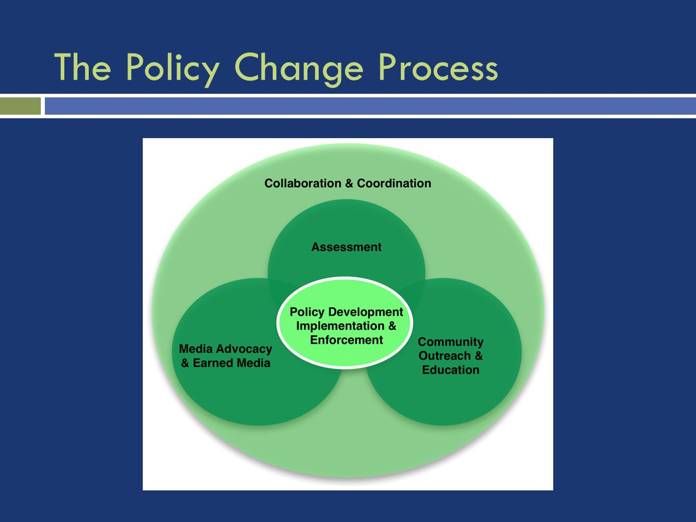 The Policy Change Process