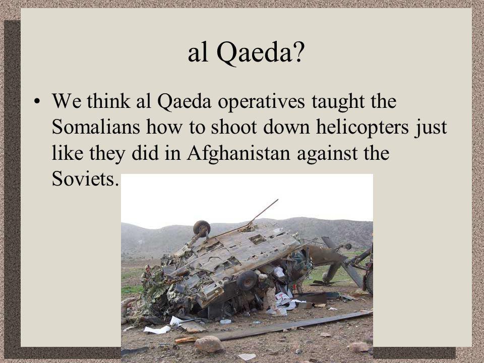 al Qaeda.