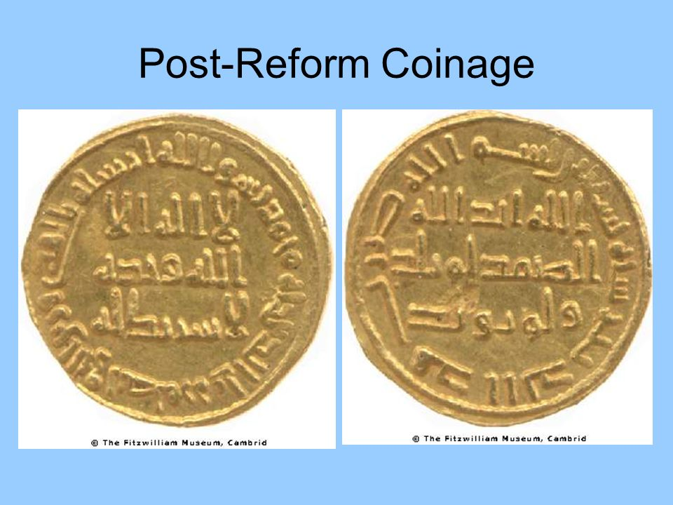 Post-Reform Coinage
