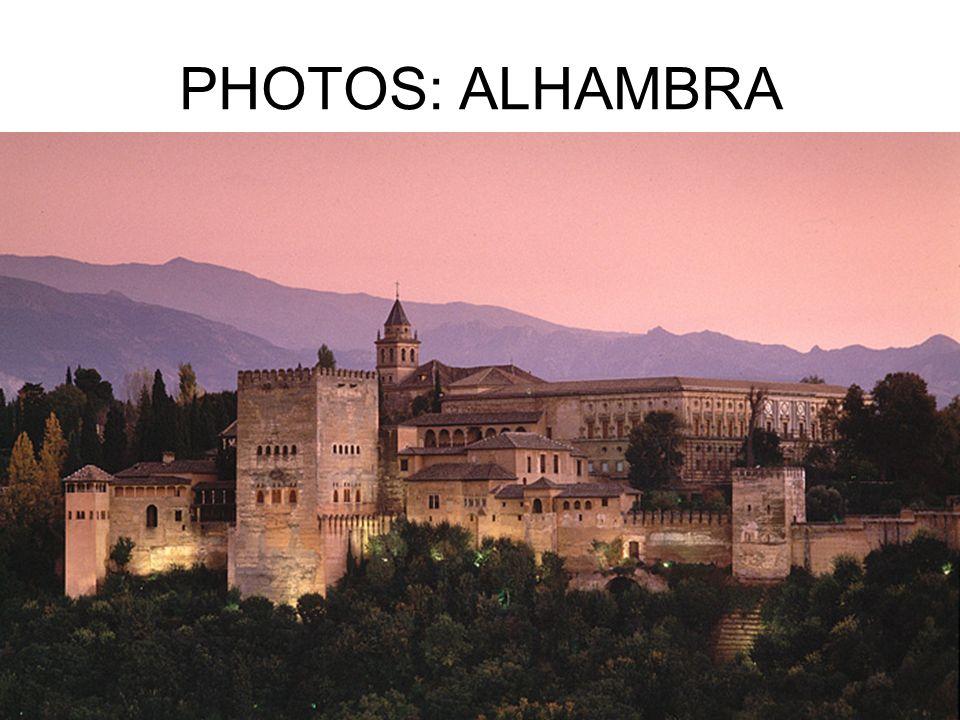 PHOTOS: ALHAMBRA