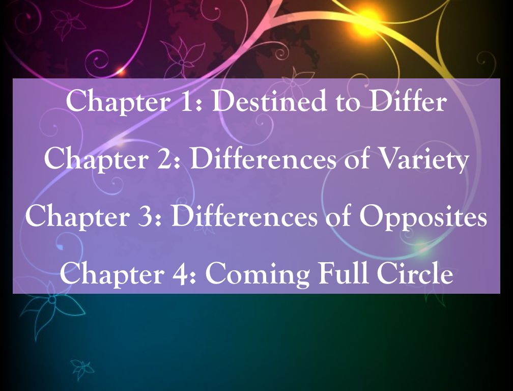 Chapter 3: Differences of Opposites 1] Legitimate/Tolerable Differences Definition: Differences that dont oppose a decisive text from the Quran or Sunnah, or a previously established consensus, or a clear analogy.