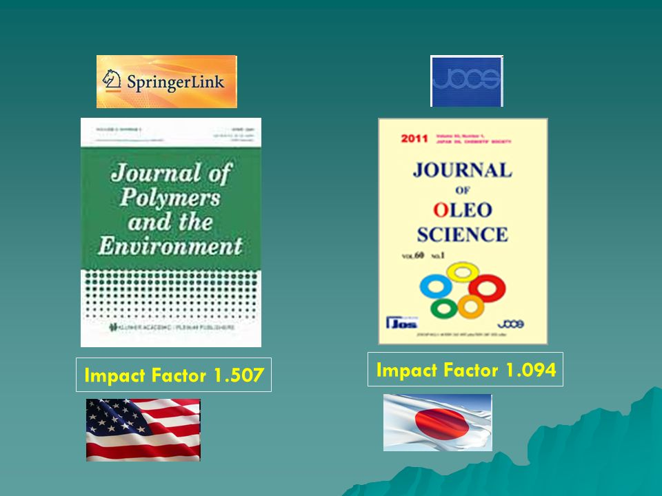 Impact Factor 1.507 Impact Factor 1.094