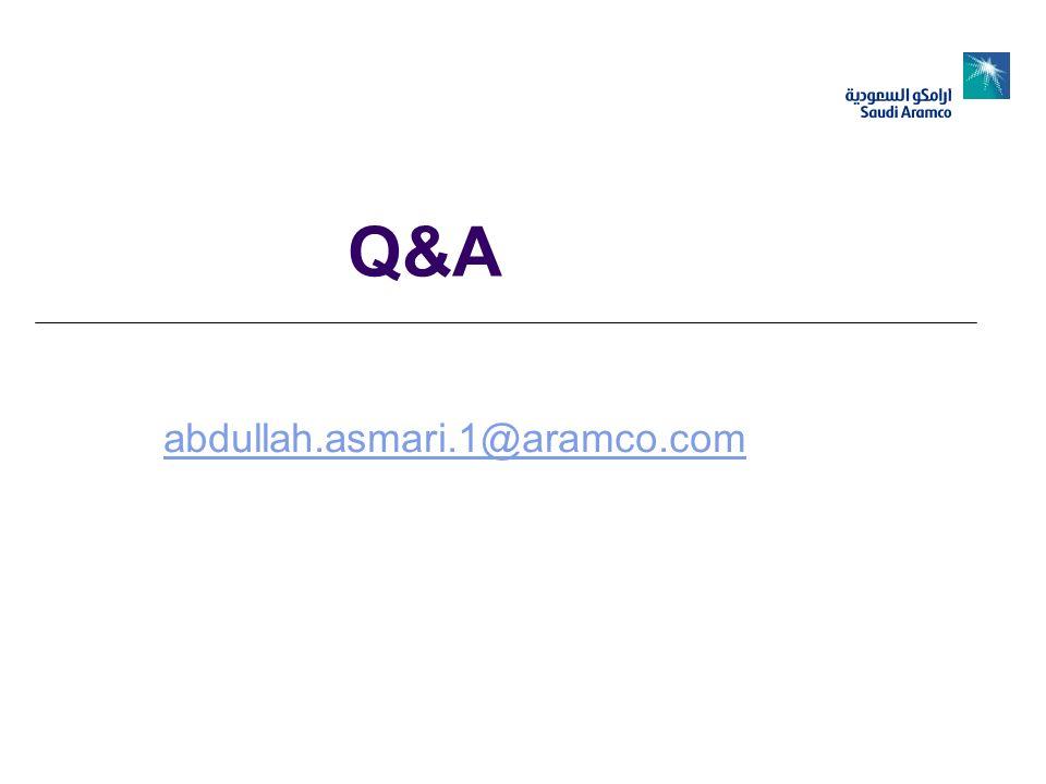 Q&A abdullah.asmari.1@aramco.com