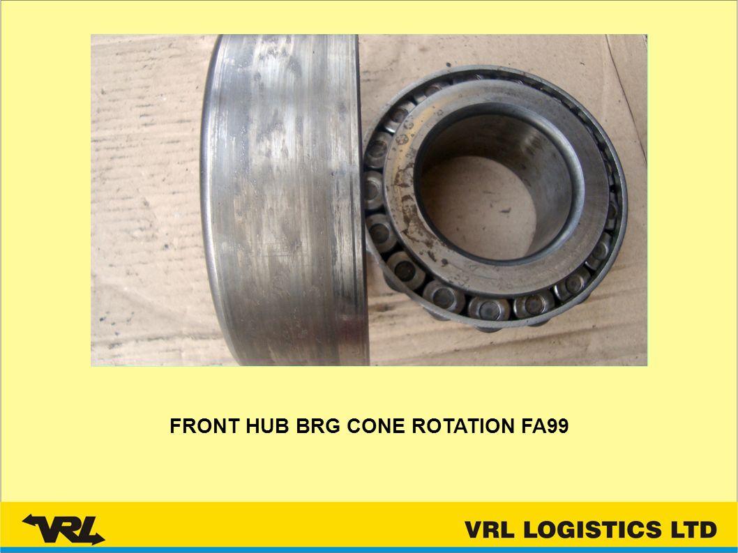 FRONT HUB BRG CONE ROTATION FA99
