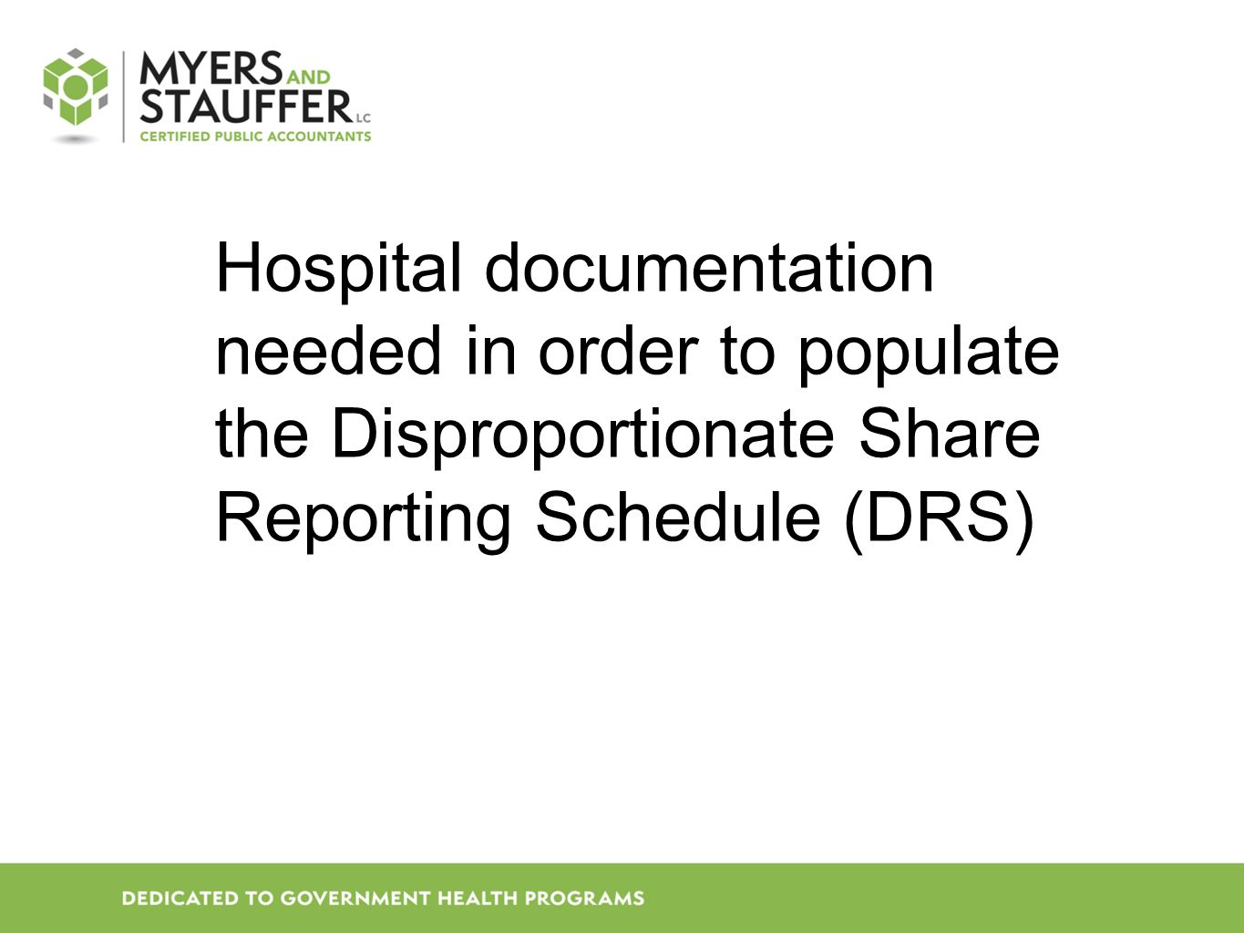 PROVIDER PAYER/INSURANCE CODE LISTING WITH DESCRIPTIONS Request list #9 MSP rate year Listing needed to determine what codes are self pay, insurance, or other payers.