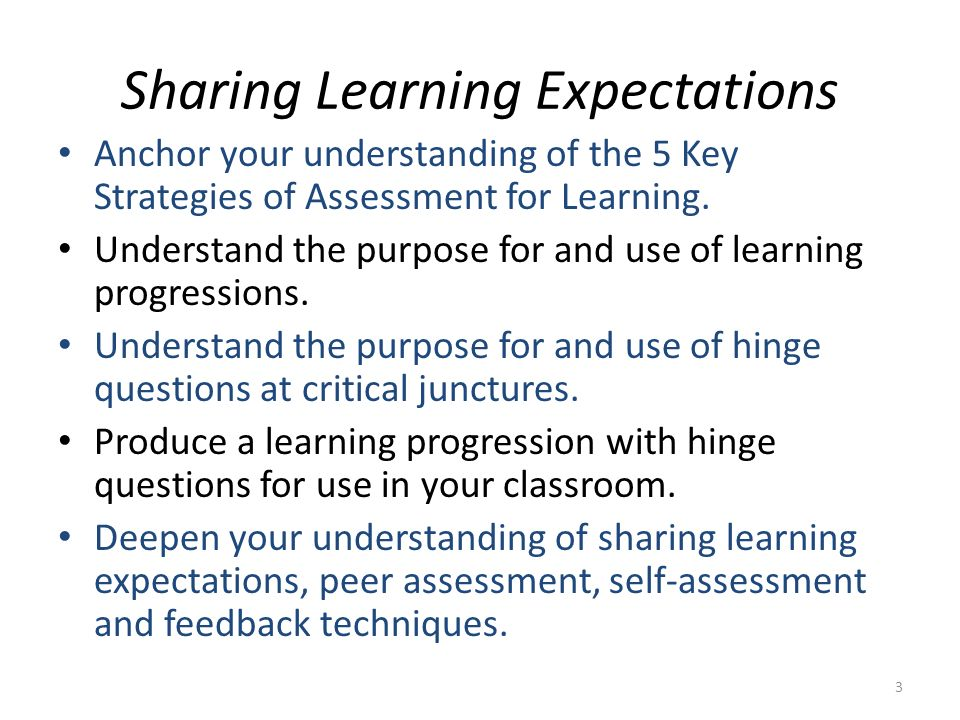 Key Idea.Keep a learning progression sufficiently lean so that it is likely to be used.