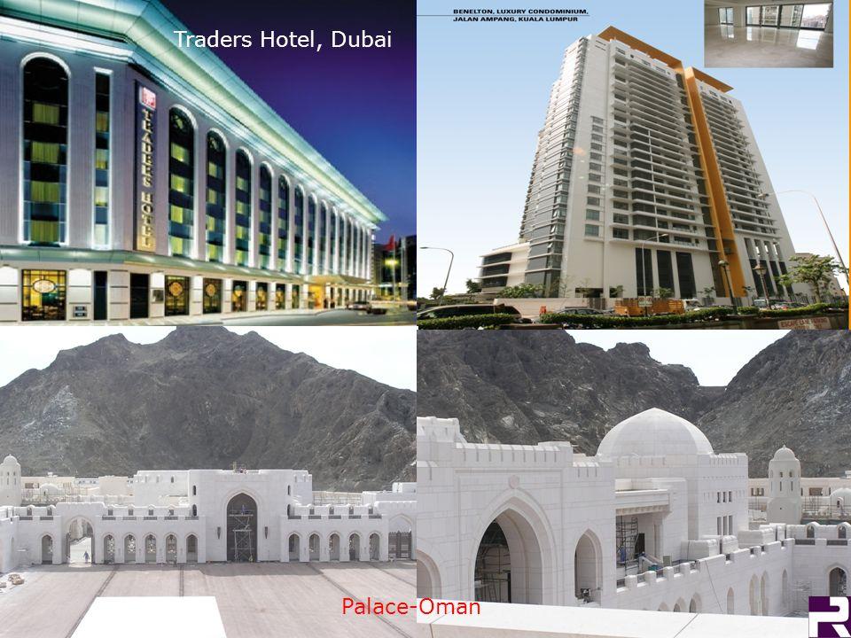 Traders Hotel, Dubai Palace-Oman