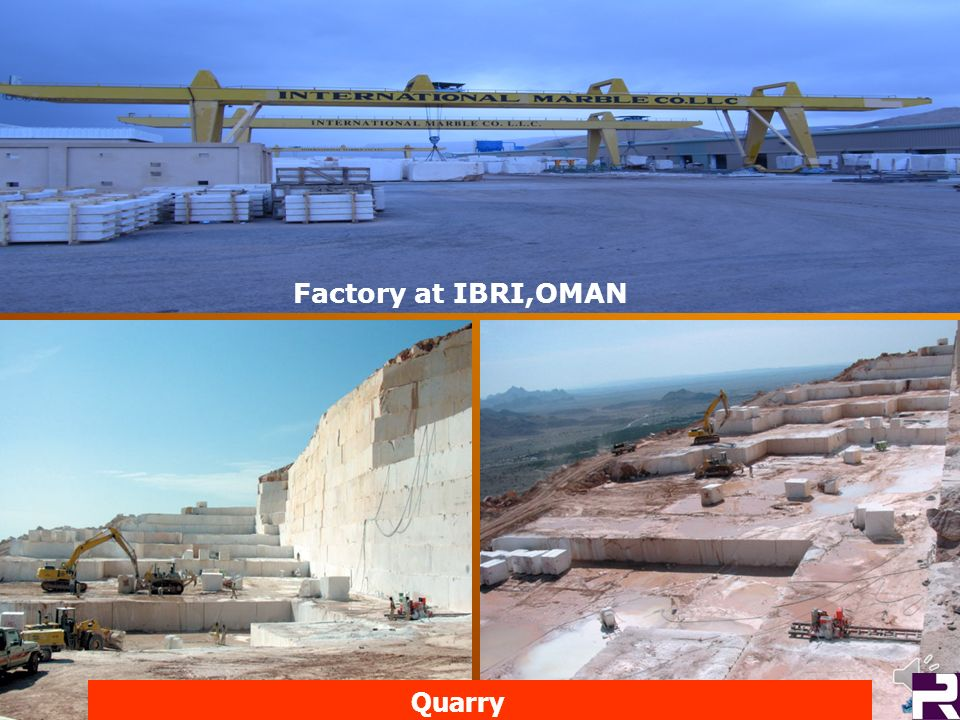 Factory at IBRI,OMAN Quarry