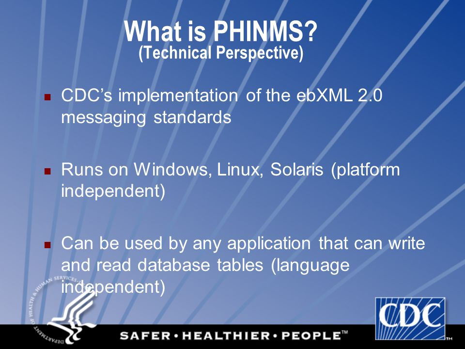 What is PHINMS.