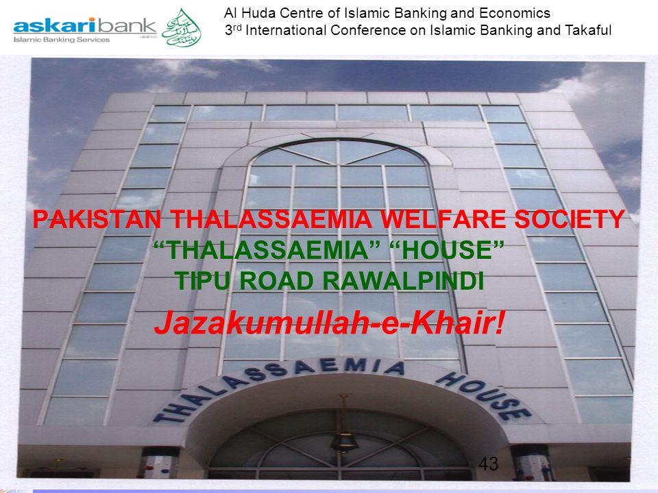 Al Huda Centre of Islamic Banking and Economics 3 rd International Conference on Islamic Banking and Takaful Any Questions? amer.khalil@askaribank.com