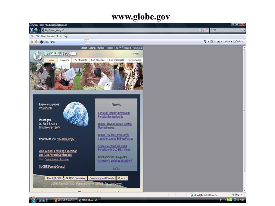 www.globe.gov