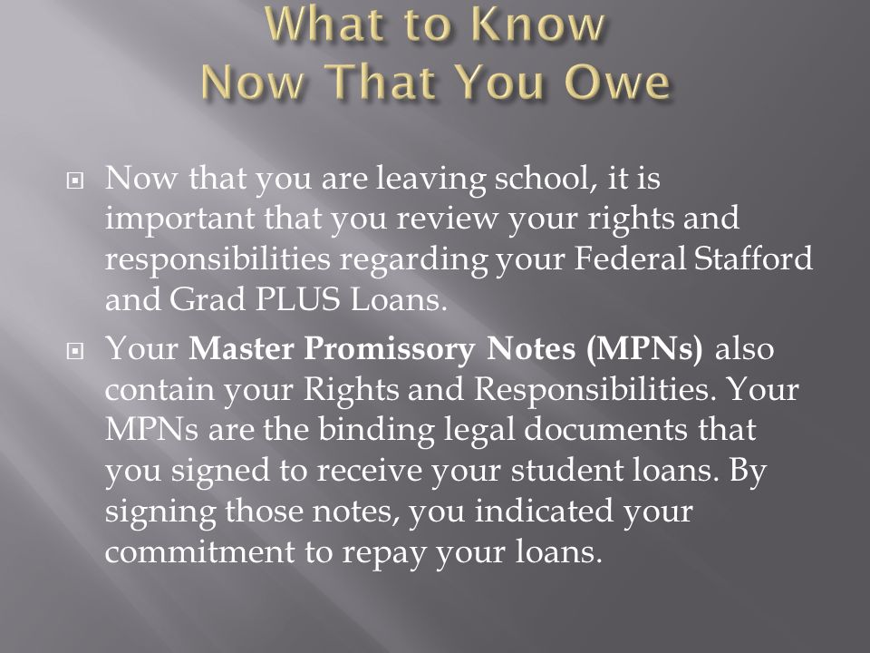 Your MPNs may have been used as a multi-year note if: your school was authorized for multi-year use or you did not change lenders.