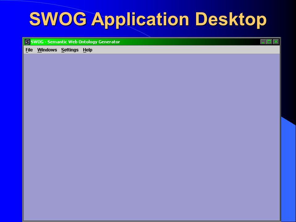 SWOG Application Desktop