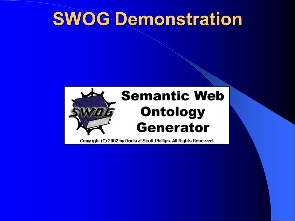 SWOG Demonstration