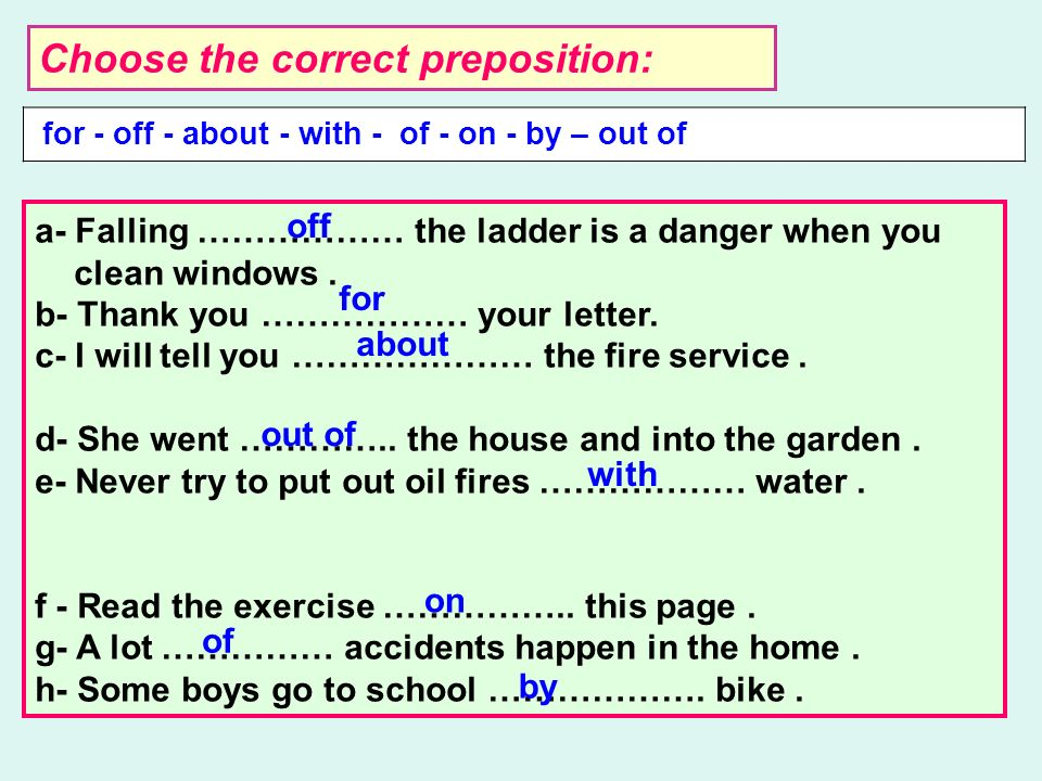 MEANING PREPOSITION USE IN A SENTENCE تحت/ أسفل Under/ below There is a fire under/below the stairs خ ل through A stone is coming through the window ح