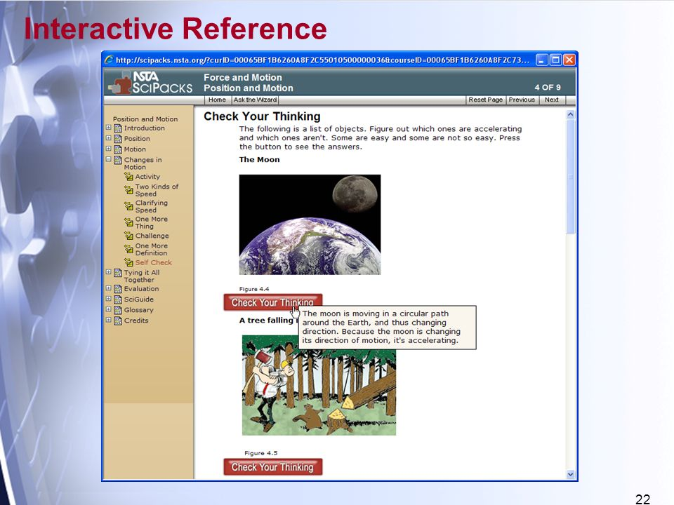 22 Interactive Reference