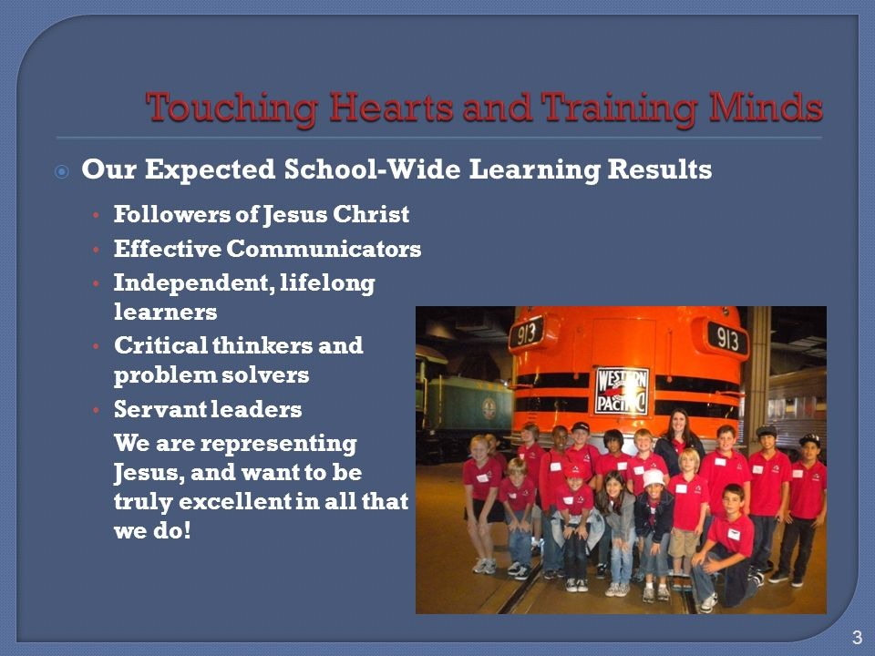 In March 2010, a joint ACSI/WASC visiting committee spent 3 ½ days evaluating our school.