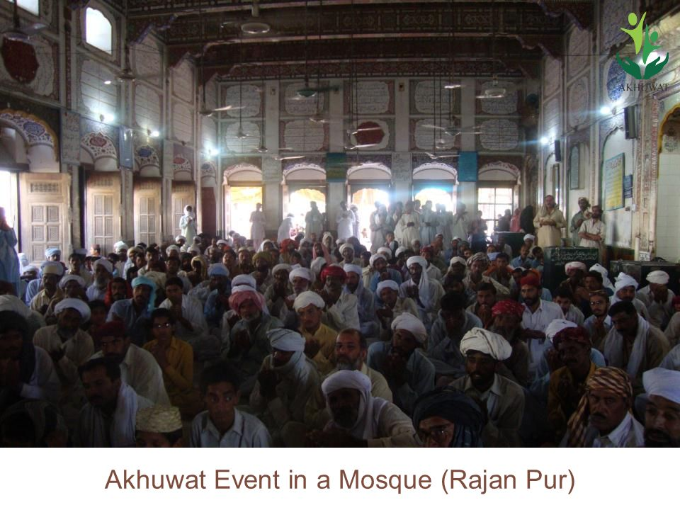 Akhuwat Event in a Mosque (Rajan Pur)