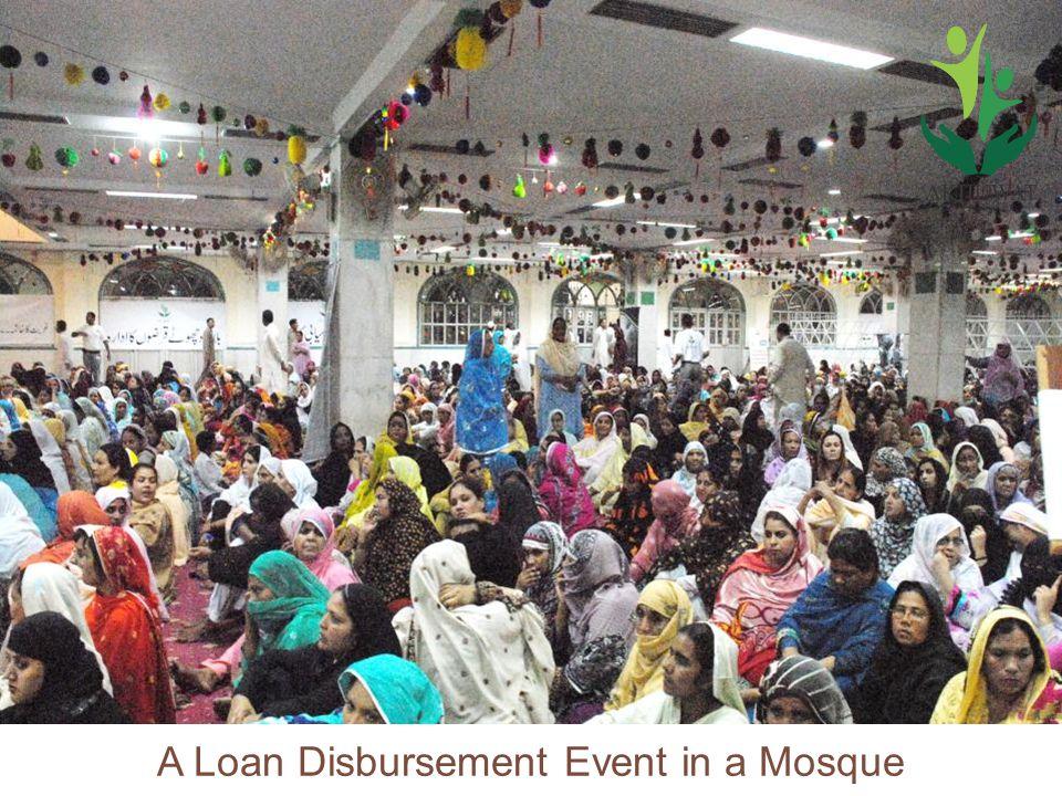 22 A Loan Disbursement Event in a Mosque