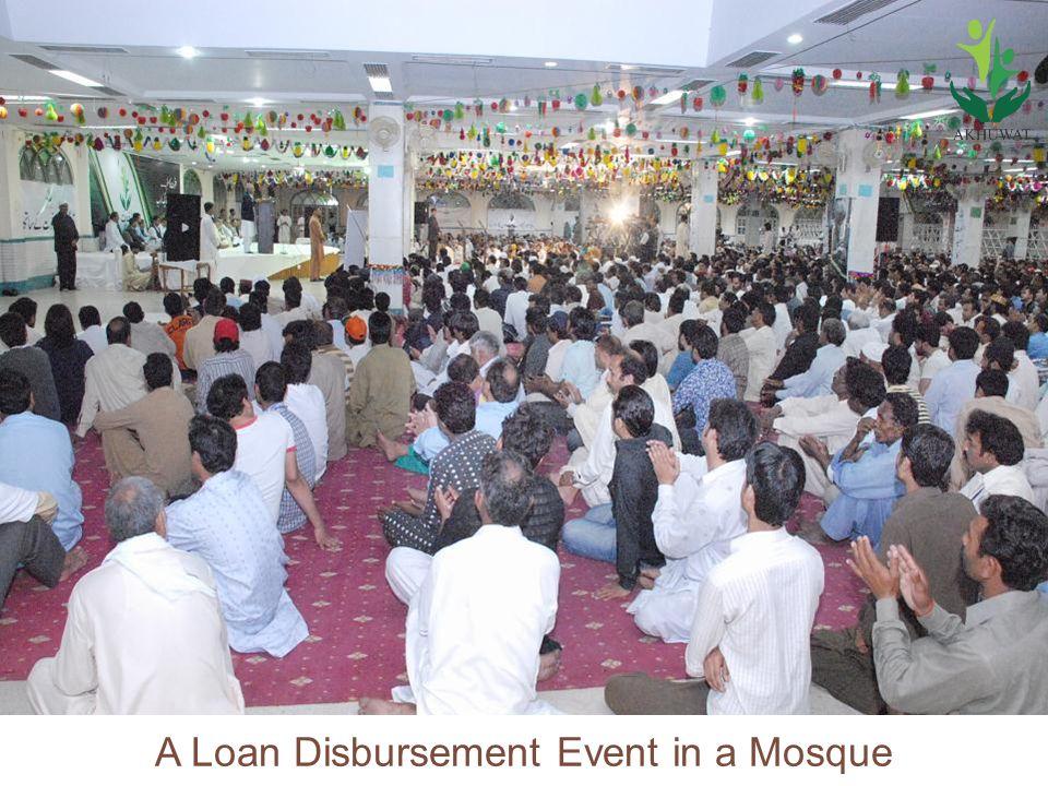 24 A Loan Disbursement Event in a Mosque