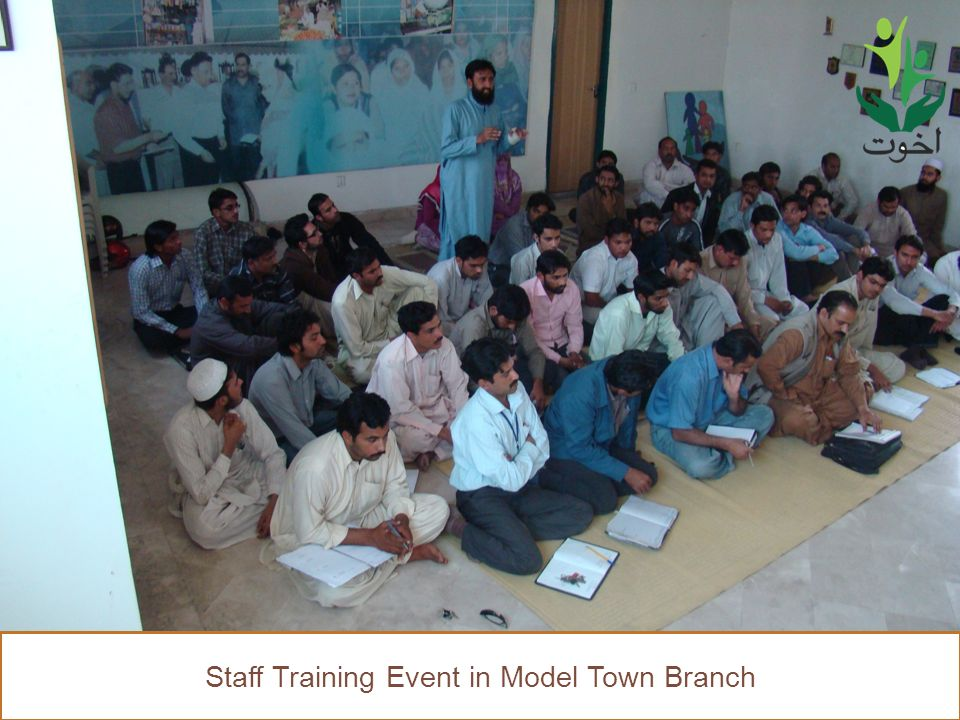 48 Staff Training Event in Model Town Branch