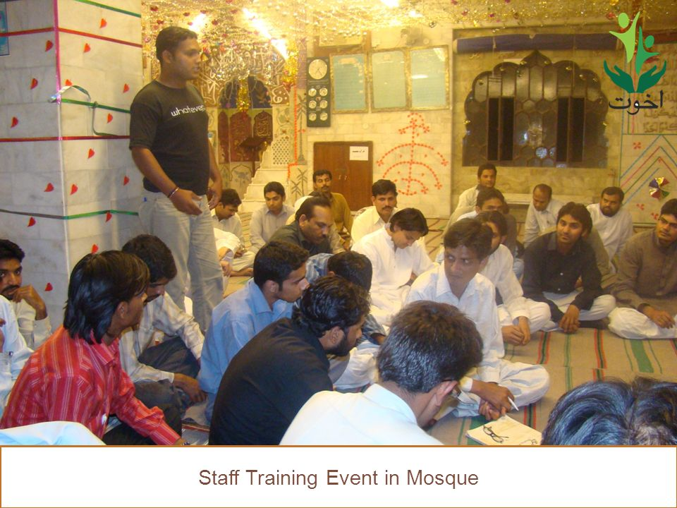 51 Staff Training Event in Mosque
