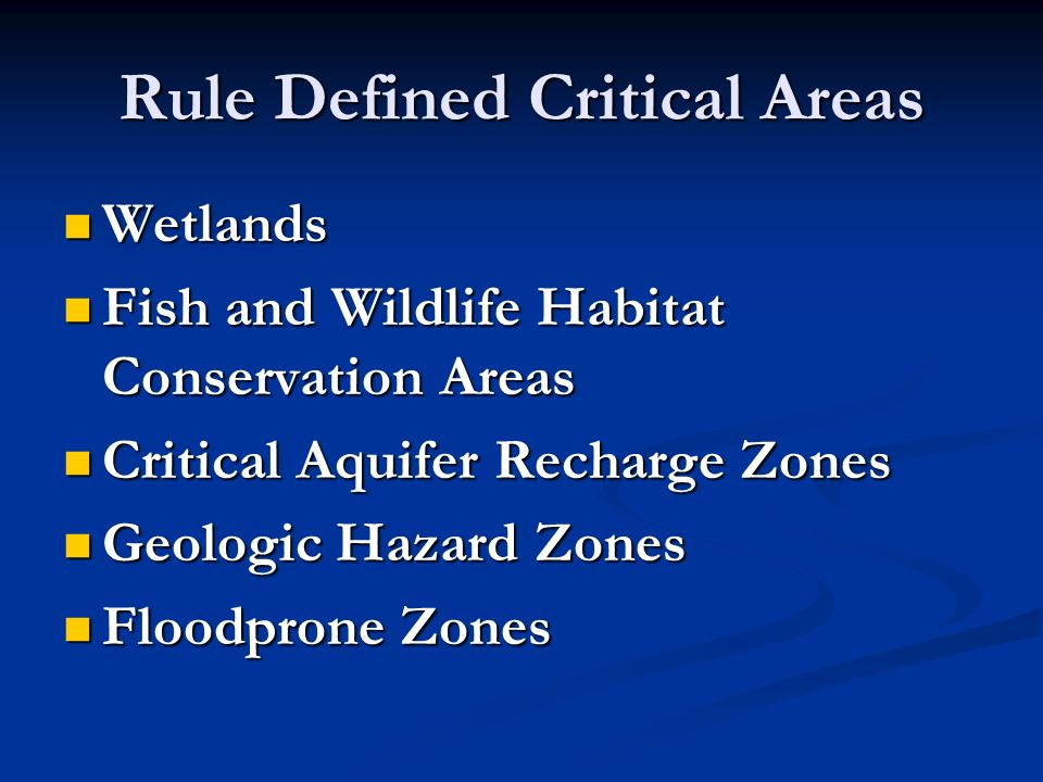Wetlands RECOMMENDATIONS BASED ON: Wetlands Functions Wetlands Functions DOE Best Available Science Volumes I & II DOE Best Available Science Volumes I & II Wetlands in Washington State: A Synthesis of the Science Wetlands in Washington State: A Synthesis of the Science DOE Wetland Rating System DOE Wetland Rating System Moderate Risk Strategy Moderate Risk Strategy Issue: Who rates and delineates.