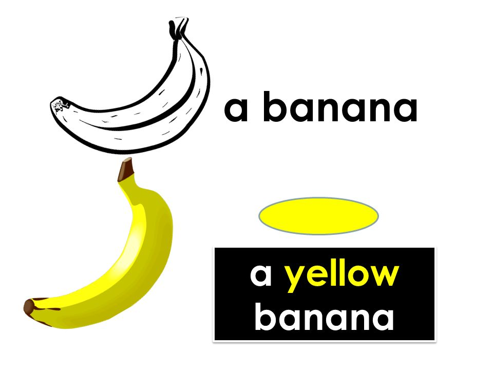 a yellow banana a yellow banana a banana