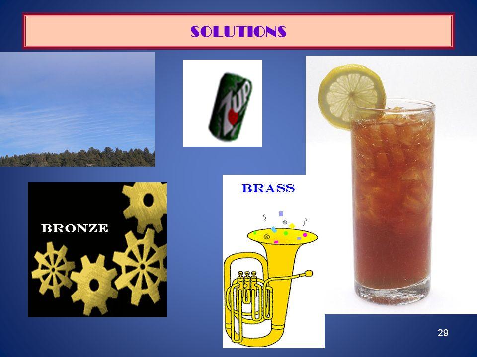 29 SOLUTIONS bRONZE brass