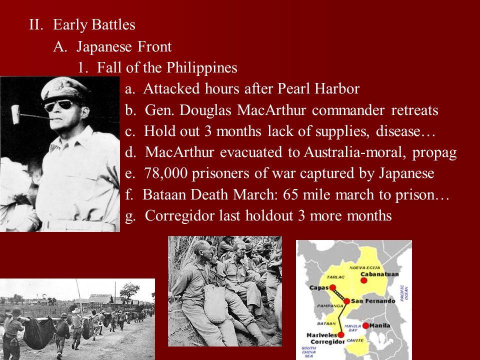 2.Doolittle Raid a. Led by Colonel James Doolittle b.