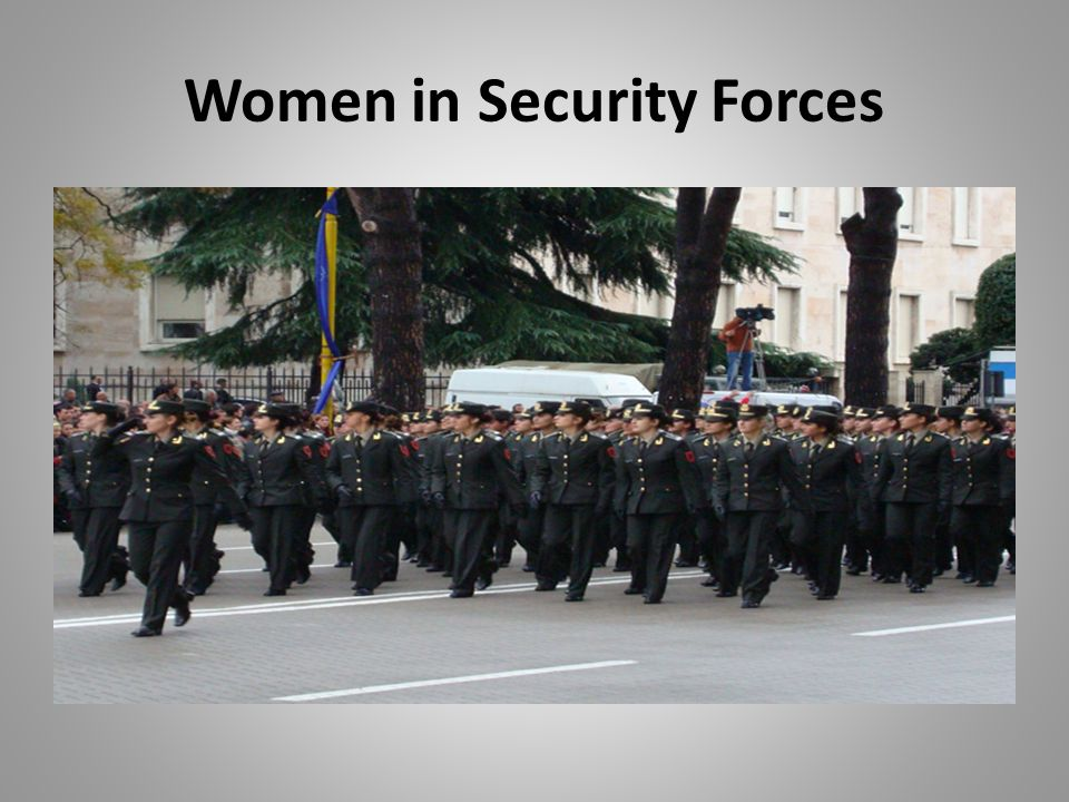 Women in Security Forces