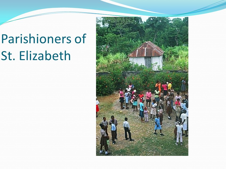 Parishioners of St. Elizabeth
