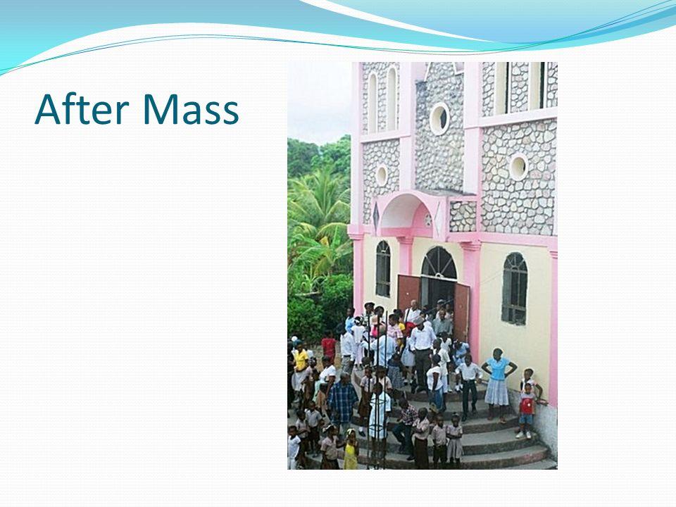 After Mass