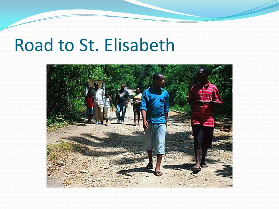 Road to St. Elisabeth