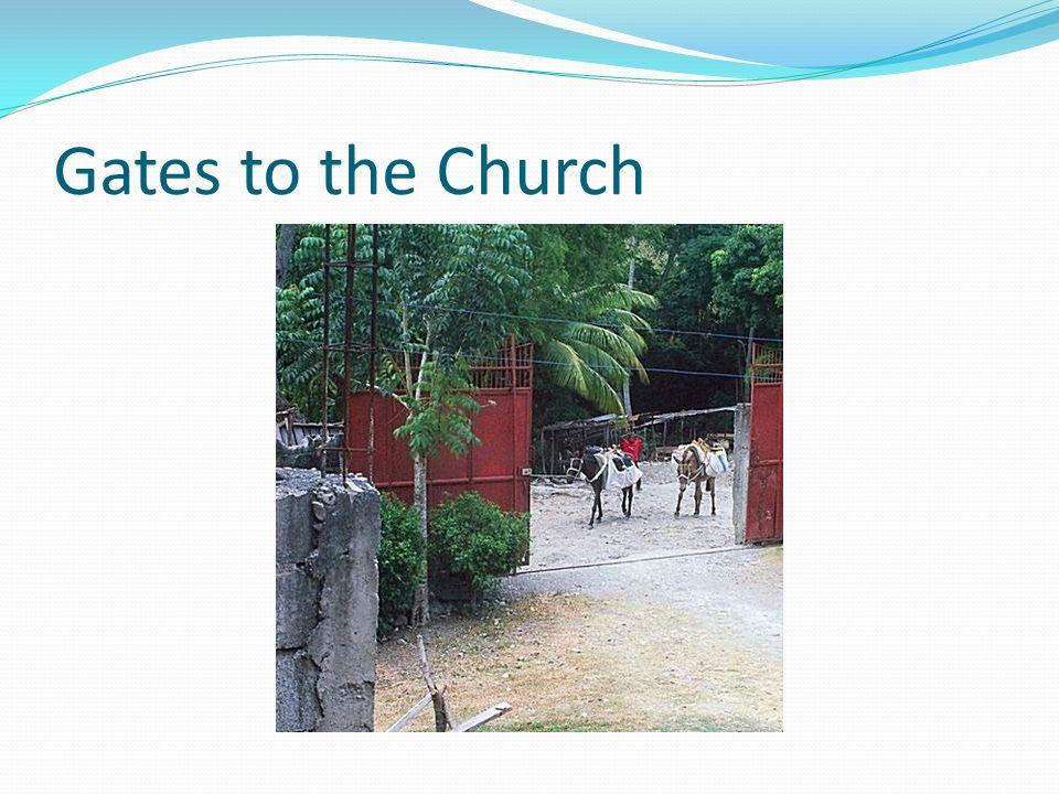 Gates to the Church
