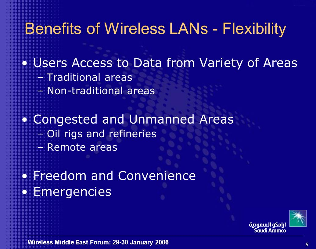 19 Wireless Middle East Forum: 29-30 January 2006 Thank You