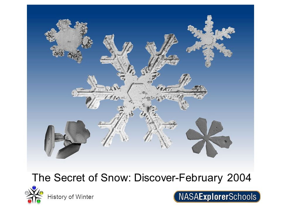 History of Winter The Secret of Snow: Discover-February 2004