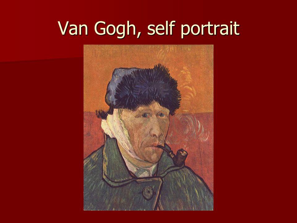 Van Gogh, self portrait