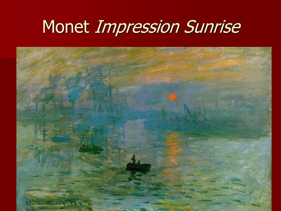 Monet Impression Sunrise
