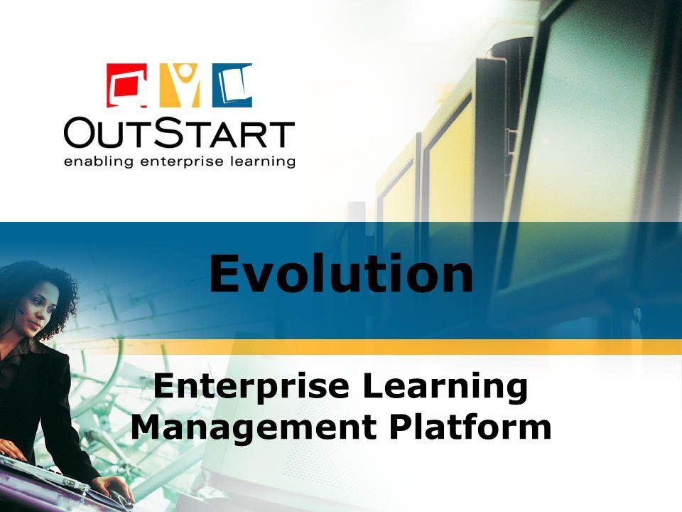 Evolution Enterprise Learning Management Platform