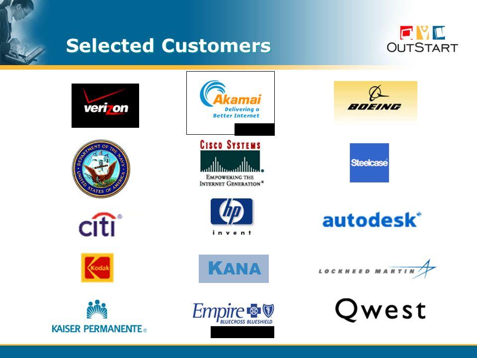 Selected Customers K ANA