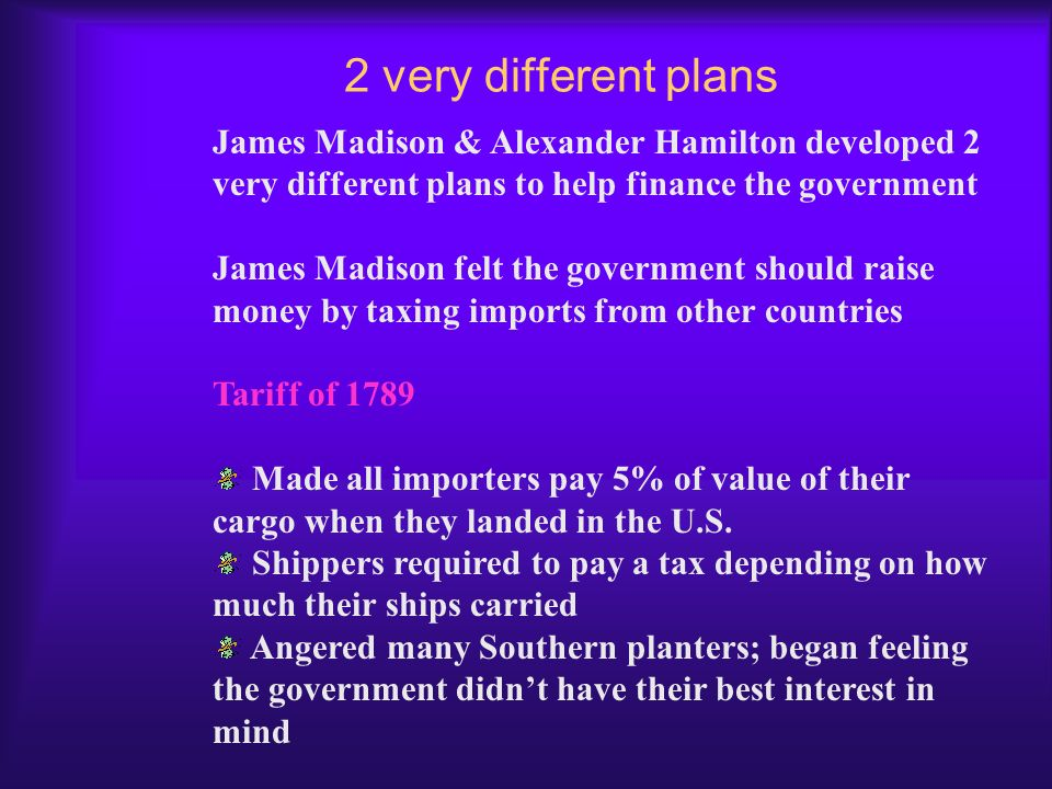 Financing Our New Government By 1789 the government needed additional monies to continue to operate Faced a national debt – money the U.S. owed to len