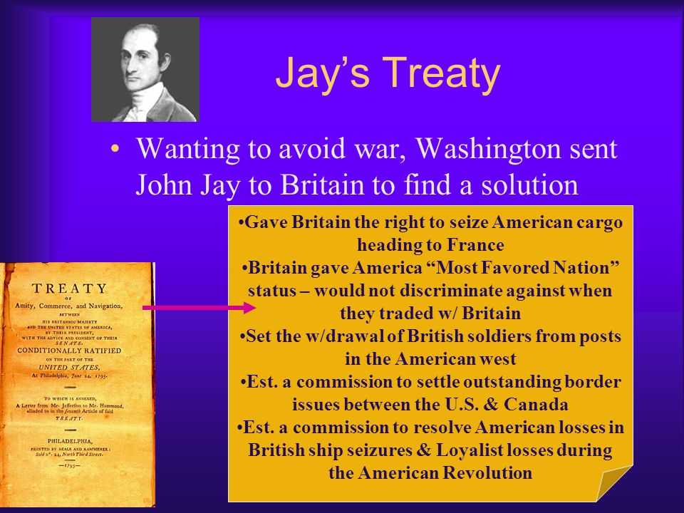 Washingtons Foreign Policy France Revolution – (French Civil War) began in 1789, shortly after Washington was inaugurated Americans were divided over